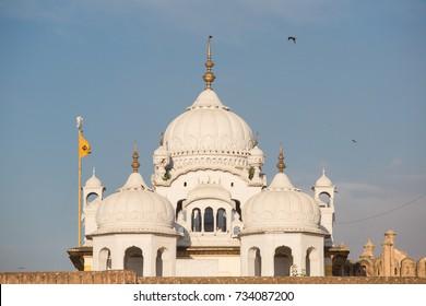 Gurdwara Dehra Sahib Sri Guru Arjan Dev in, Lahore, Pakistan September, 2017