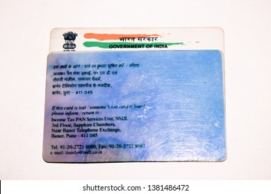 Gurgaon (Gurugram),Haryana/India - 21/04/2019:Aadhaar card and pan card which is issued by Government of India as an identity card