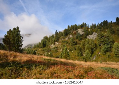 Gurktal Alps with Windebensee are a mountain range of the Central Eastern Alps in Austria,