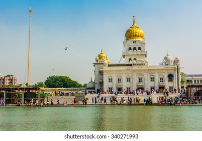 Gurudwara, Gurudwara Bangla Sahib, New Delhi, India