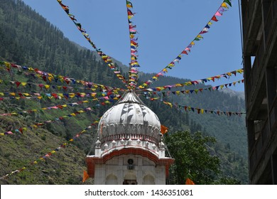 gurudwara manikaran at Kasol, Himachal Pradesh, India