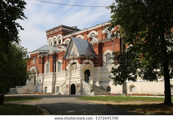 """Gus ' - Khrustal'nyy  Russia- August 30 2018: The Museum of crystal behalf Maltsov"""