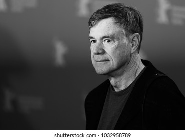 Gus Van Sant poses at the 'Don't Worry, He Won't Get Far on Foot' photo call during the 68th Berlinale Film Festival Berlin at Hyatt Hotel on February 20, 2018 in Berlin, Germany.