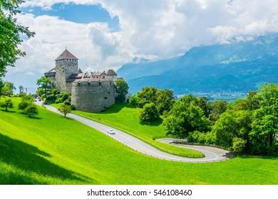 Gutenberg Castle in the Principality Liechtenstein