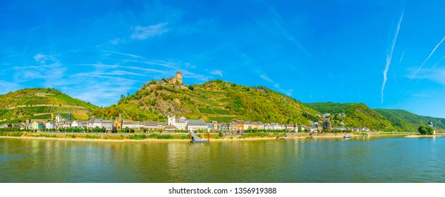 Gutenfels castle in Kaub, Germany