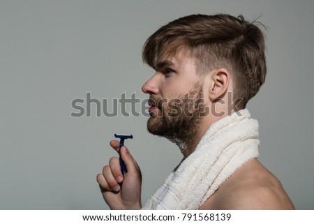 shaving profile