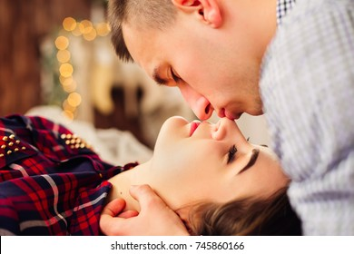 Kiss On Nose Images, Stock Photos & Vectors | Shutterstock