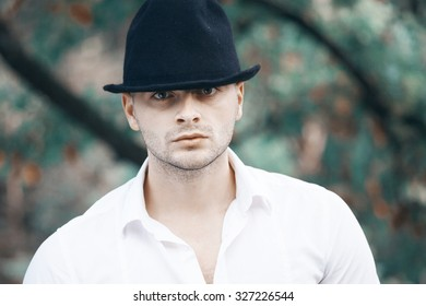 the guy with the hat