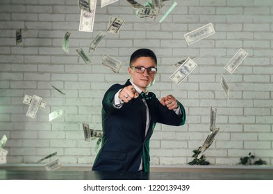guy with a lot of money