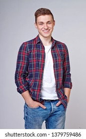guy in a plaid shirt