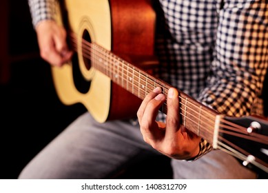 the guy plays the guitar,