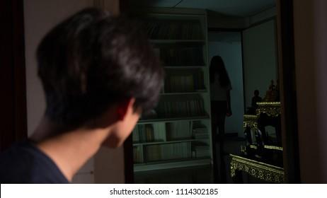Guy saw Thai lady ghost
