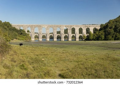 Guzelce Aqueduct built by Master Ottoman Architect Sinan Istanbul Turkey
