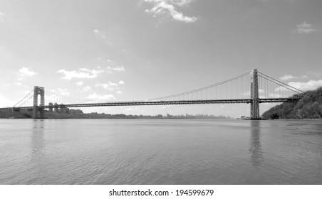 The GW Bridge in New Jersey / The GW