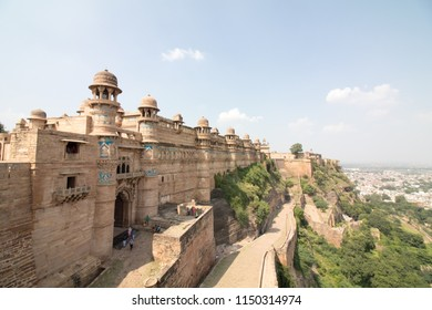 Gwalior Fort, magnificent fort in Madhya Pradesh, India