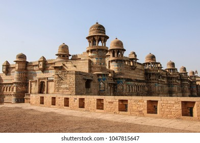 Gwalior fort in Gwalior (Mughal architecture), Madhya Pradesh, India