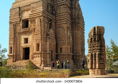 Gwalior, Madhya Pradesh, India - January 12, 2019 : Teli Ka Mandir Temple, Gwalior Fort, Gwalior, Madhya Pradesh, India.