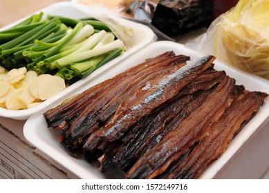 Gwamegi, Half-dried Herring or Billfish