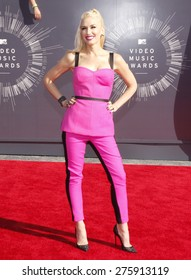 Gwen Stefani at the 2014 MTV Video Music Awards held at the Forum in Los Angeles on August 24, 2014 in Los Angeles, California.