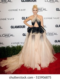 Gwen Stefani at the Glamour Women Of The Year 2016 held at the NeueHouse in Hollywood, USA on November 14, 2016.