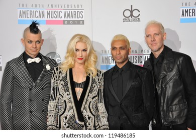 Gwen Stefani & No Doubt at the 40th Anniversary American Music Awards at the Nokia Theatre LA Live. November 18, 2012  Los Angeles, CA Picture: Paul Smith