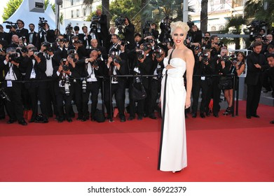 """Gwen Stefani at the premiere of """"This Must Be The Place"""" in competition at the 64th Festival de Cannes. May 20, 2011  Cannes, France Picture: Paul Smith / Featureflash"""