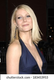Gwyneth Paltrow, in a custom-made Stella McCartney jumpsuit and vintage Fred Leighton jewelry, at IRON MAN Premiere, Grauman's Chinese Theatre, Los Angeles, April 30, 2008