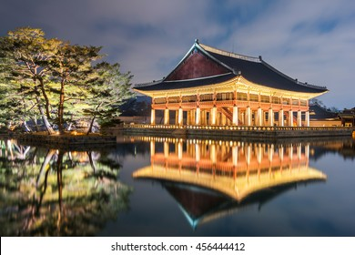 Gyeongbok palace in Seoul City, South Korea.