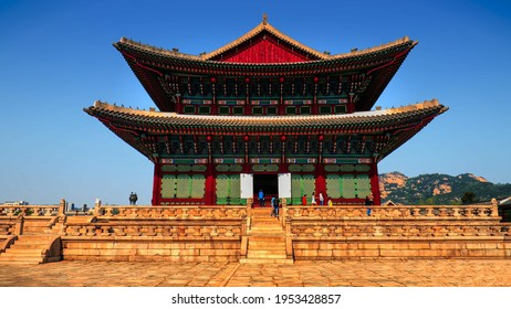 Gyeongbokgung, also known as Gyeongbokgung Palace, was the main royal palace of the Joseon dynasty. It is located in northern Seoul, South Korea