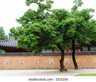Gyeongbokgung Palace grounds, Seoul, South Korea