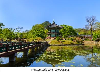 Gyeongbokgung Palace in Seoul,South Korea