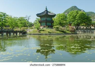 Gyeongbokgung in Seoul, Korea