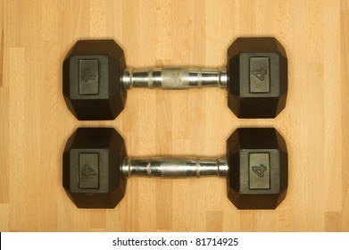 Gym and exercise equipment in the gym