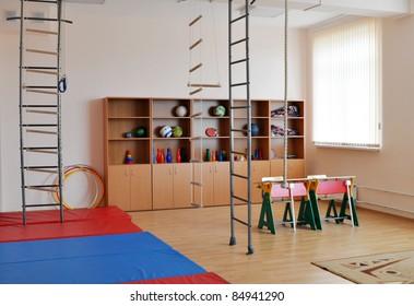 Gym in high school
