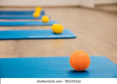 The gym for training Pilates