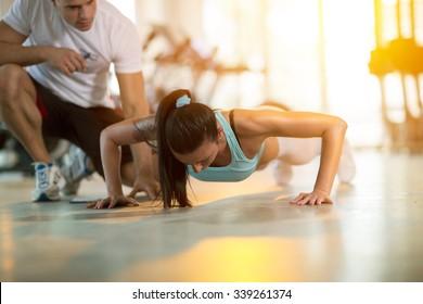 Imágenes, fotos de stock y vectores sobre Personal Trainers