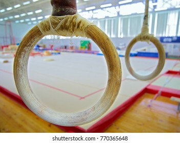 Gymnastic rings in the gym