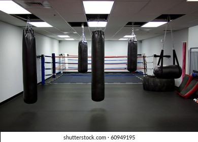 Gym,Punching bags