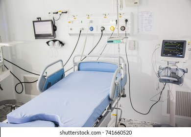 gynecological chair in the hospital