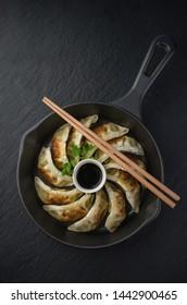 Gyoza, nourriture traditionnelle asiatique