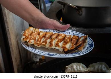 Gyoza,Pot sticker Chinese food