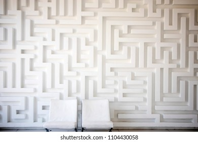 THE Gypsum white wall in the house.