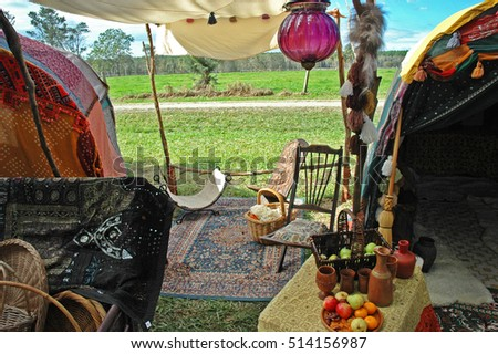 Gypsy Tent & Gypsy Tent Stock Photo (Edit Now) 514156987 - Shutterstock
