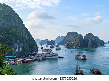 Ha Long Bay boasts incredible islands, spectacular limestone karsts, fascinating grottos natural cave formations travel Vietnam. Halong Bay Tour Cruise Discover Rock islands spectacular limestone.