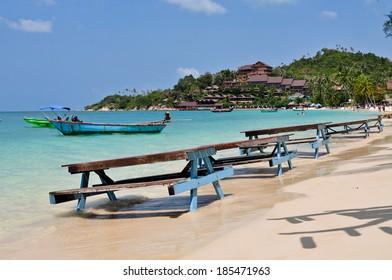 Haad Yao Beach at Koh Phangan, Thailand