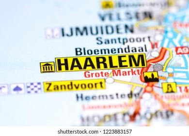 Haarlem Map Images, Stock Photos & Vectors | Shutterstock