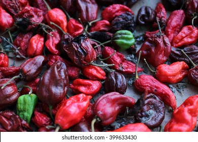 habanero chilly peppers
