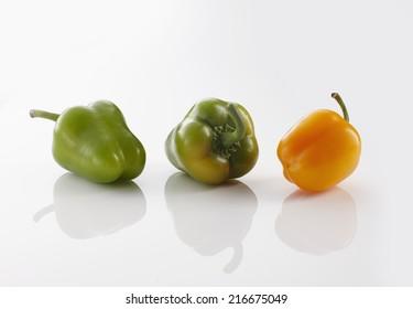 Gr�¼ne Habaneros; gelbe Habaneros; Chili