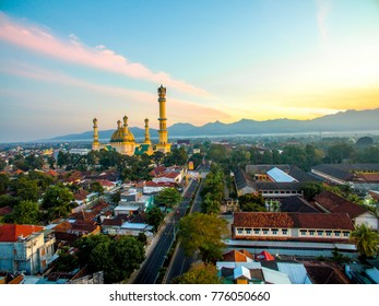 Habbul Wathan Mosque, Islamic Centre Lombok West Nusa Tenggara, Indonesia, in the morning