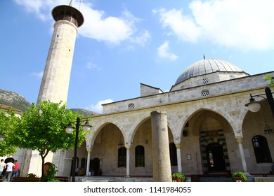 HABIB-I NECCAR MOSQUE, ANTAKYA, TURKEY - 20 July 2018. It is a historical mosque in Antakya where there was probably a pagan temple in place of this mosque in the antiquity.